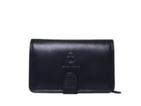 cea1dd780c88 Γυναικείο δερμάτινο πορτοφόλι μπλε SERGIO TACCHINI 9480-ST01