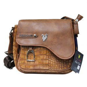 Γυναικεία τσάντα χιαστί ώμου ταμπά POLO CLUB HARVEY MILLER LIN153 ca9c135ca25